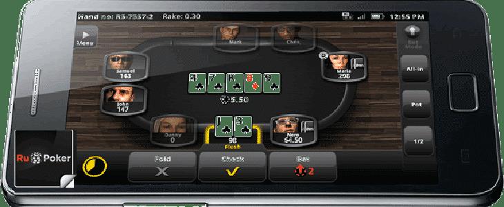 как установить ru poker на телефон