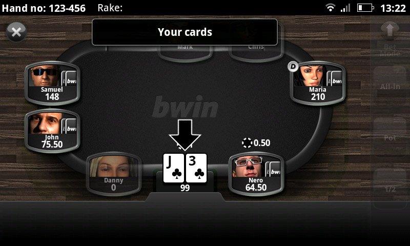 играть bwin poker на андроид