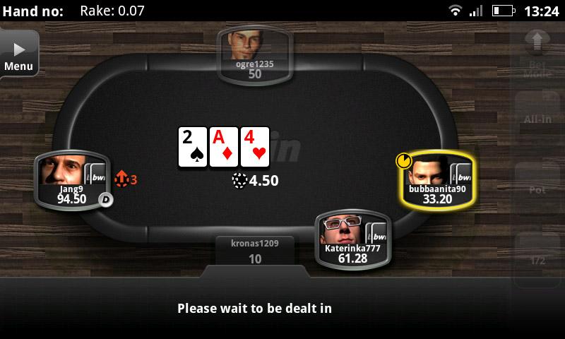 играть на андроид bwin poker