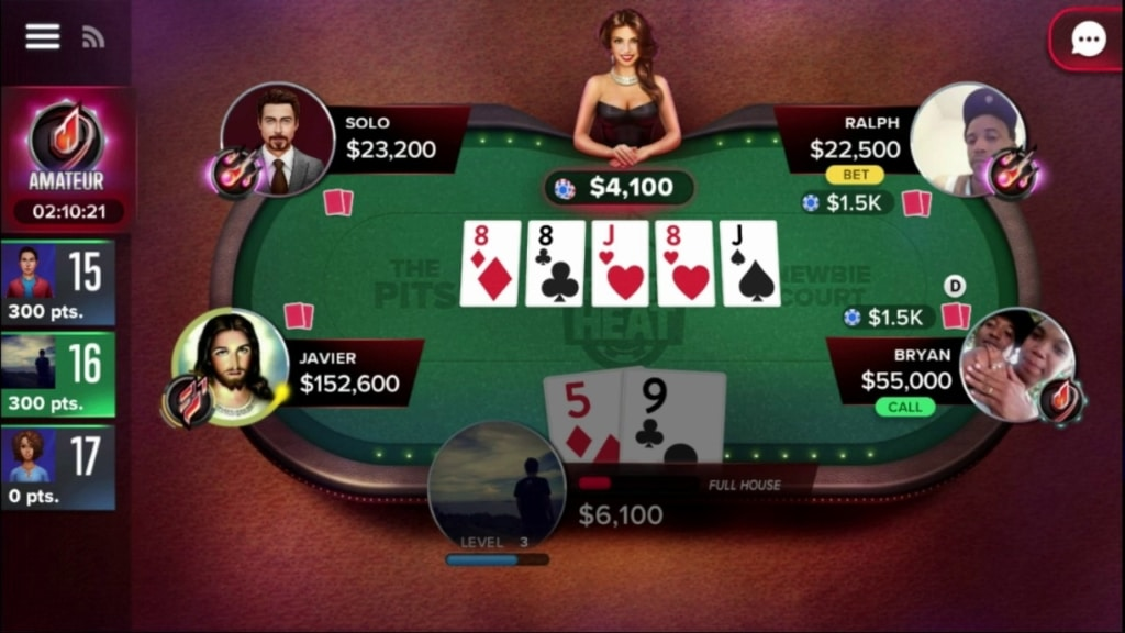 poker heat mobile