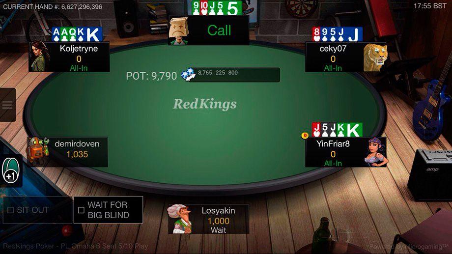 ред кингс покер на андроид