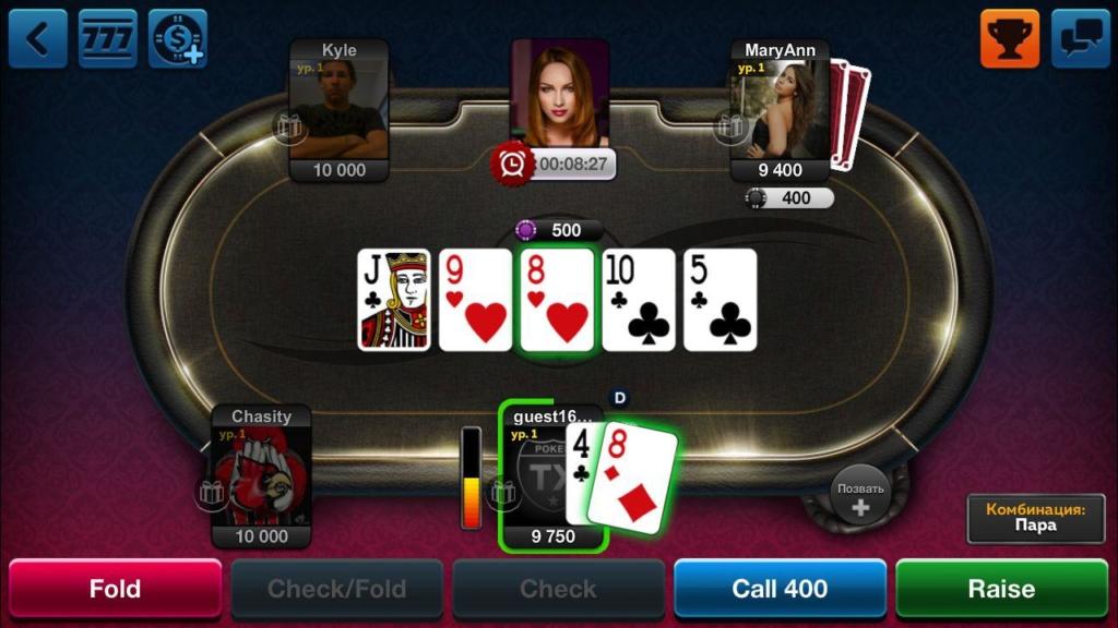 texas poker на android