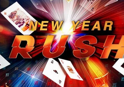 Partypoker акция New year rush.