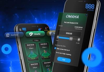 Омаха теперь в мобильном приложении 888poker
